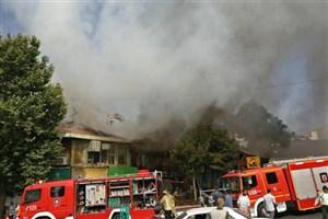 آسیبدیدگی چند آتشنشان و خودروهای آتشنشانی در وقایع اخیر تهران