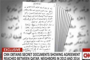 سیانان فاش کرد : عدم پایبندی قطر به توافقنامه ریاض دلیل بحران  اعراب