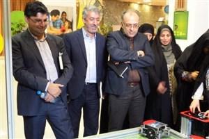 بازدید رئیس مرکز آموزشی و فرهنگی سما تهران و مدیران مدارس از پارک علم و فناوری پردیس