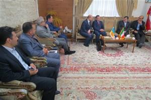 استاندار قزوین:  ایران می تواند شریک تجاری خوبی برای اوکراین باشد