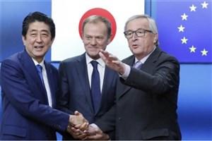 نگرانی تولیدکنندگان آمریکایی از توافق تجاری ژاپن و اروپا