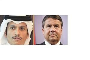 گفتگوی تلفنی وزرای امور خارجه قطر و آلمان