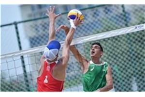 ملی پوشان والیبال ساحلی سوم شدند
