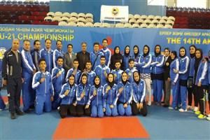 پیشتازی ایران در جدول رده بندی مدالی تا پایان روز دوم