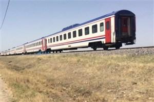 یک مصدوم بر اثر تصادف قطار با تیلر