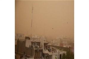اصفهان در گرد و غبارمحاصره شد
