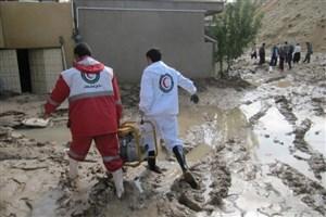 امدادرسانی به 561 نفر از هموطنان/2 نفر در اثر سیل و یک نفر در اثر رعد و برق جان باختند