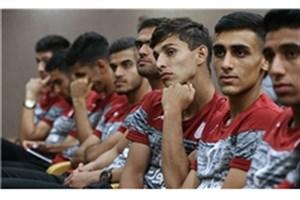 برگزاری اولین جلسه تمرینی تیم امید در اردوی جدید