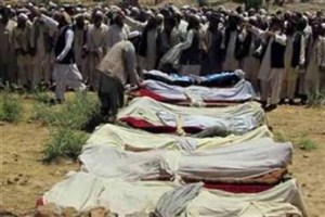 آمریکا جان ۵ غیرنظامی افغان را گرفت