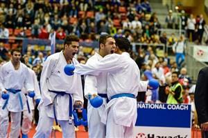4 مدال طلا و نقره دستاورد نمایندگان کاراته ایران