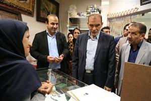 مرکز کارآفرینی دست آفرین در منطقه 11 افتتاح شد