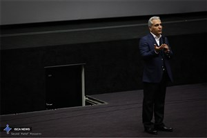 مهران مدیری با مخاطبان در مشهد فیلم می بیند
