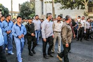 بازسازی صحنه جرم در قزوین/ عکس