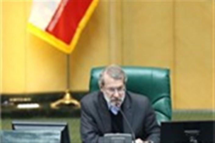تجلیل رئیس مجلس از درایت نیروی انتظامی و تدبیر بسیج