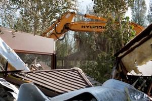 تخریب سازههای ۵ میلیاردی در بسطام/آوار آخرین دارایی متصرفان غیرمجاز