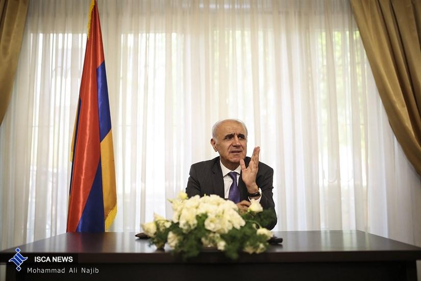 نشست خبری سفیر ارمنستان در ایران