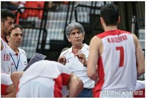 پیروزی تیم ملی بسکتبال امید ایران برابر ژاپن