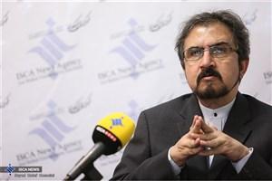 قاسمی: طرح ادعا در خصوص جزایر ایرانی را شدیدا محکوم می کنیم