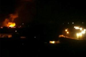 کارخانه فوم در ملارد آتش گرفت/حادثه تلفات نداشت/ عکس