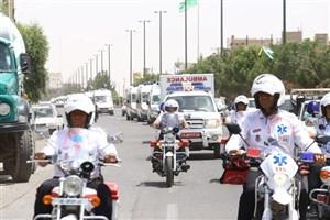 ورود 200 موتور جدید به ناوگان موتورلانس اورژانس تهران