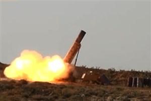 موشک جدید حزب الله  مواضع تروریست ها را درهم کوبید