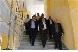 بازدید معاون توسعه مدیریت و منابع وزارت بهداشت از پروژه های درمانی، آموزشی و اداری کرمان