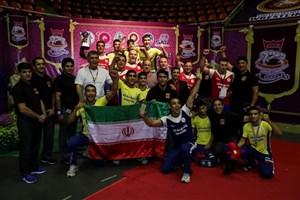 قهرمانی تیم ملی کشتی فرنگی نوجوانان در رقابت های آسیایی با مربیگری  دانشجوی دانشگاه آزاد