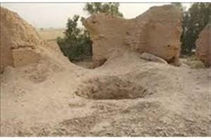 حفاریهای غیرمجاز در تپه تاریخی اروک