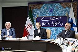 مراسم اعطای حکم ریاست دانشگاه آزاداسلامی به دکتر فرهاد رهبر