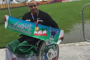 Isfahan IAU Student Shines in World Para Athletics Championships
