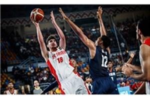 تیم ملی بسکتبال ایران مقابل چین پیروز شد