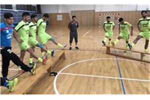 ملیپوشان فوتسال تمرینات پیش از بازی با تایلند را برگزار کردند