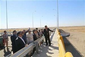 پل جدید پایانه مرزی سرخس آماده بهره برداری شد
