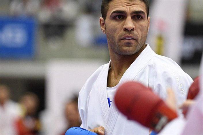 اولین طلای کاراته در بازیهای جهانی به نام پورشیب ثبت شد/ کاپیتان بالاخره آراگا را برد