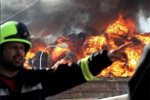 آتش در انبار ایرانسل کرمان