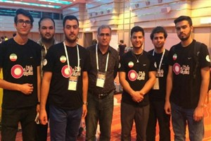 نایب قهرمانی تیم دانشگاه امیرکبیر در لیگ رباتهای امدادگر