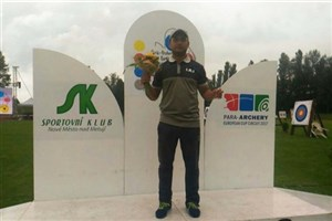Dezful SAMA IAU Student Wins 1st Title at 2017 Para-Archery World Ranking Tournament