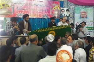 حضور خادمان حرم رضوی در منزل شهید مدافع حرم اکبر نظری
