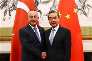 چاووش اوغلو: ترکیه و چین خواستار همکاری امنیتی با یکدیگر هستند