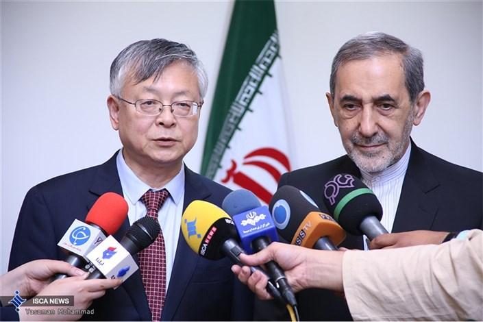 دیدار دکتر ولایتی با سفیر چین در ایران