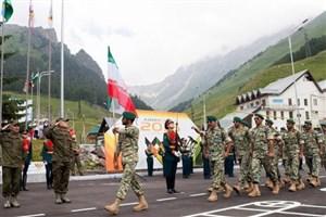 مقام چهارم ایران در مسابقات ارتش های جهان