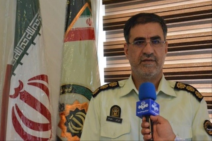 سردار علی اکبر جاویدان رییس پلیس گلستان