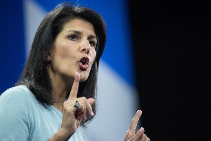 نیکی هیلی: زمان اقدام علیه ایران در شورای امنیت است