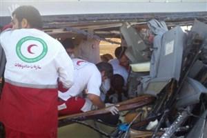 نجات 77 نفر در سوانح ترافیکی طی 72 ساعت گذشته/یک هزار و 135 نفر خدمات امدادی دریافت کردند