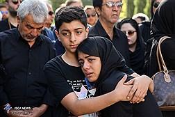 مراسم تشییع پیکر ناصر فرهودی