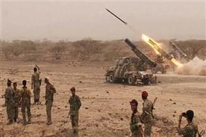 توپخانه ارتش یمن به دو پایگاه متجاوزان سعودی شلیک کرد