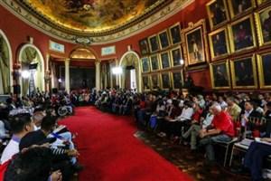 یورش نمایندگان مجلس موسسان ونزوئلا  به ساختمان پارلمان