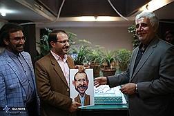 بازدید دکتر فرهاد رهبر رئیس دانشگاه آزاد اسلامی از مجموعه خبرگزاری های دانشگاه آزاد