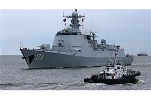 رزمایش مشترک دریایی روسیه و چین