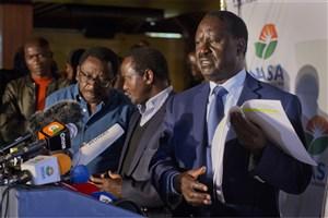 رئیس جمهور کنیا درانتخابات  پیشتاز است